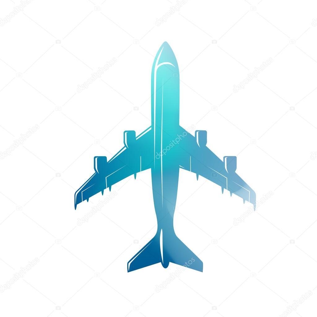 Vuelo avión vintage color — Fotos de Stock © goodgraphic #116988784