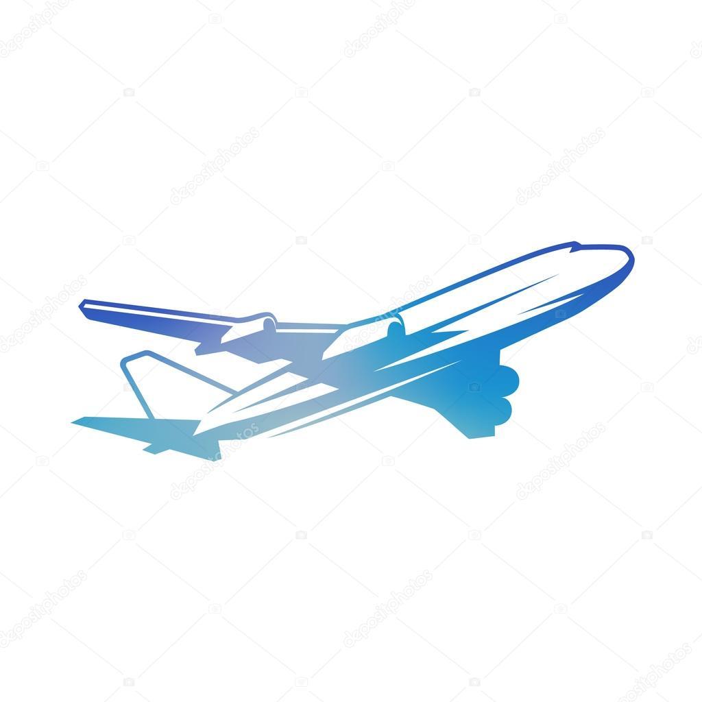 Vuelo avión vintage color — Fotos de Stock © goodgraphic #117001896