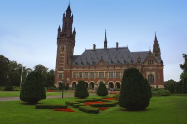 building in The Hague: the Peace Palace. It is the seat of the I