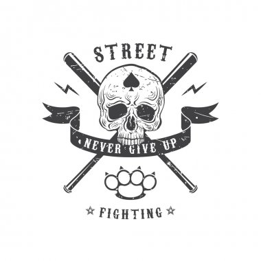 Street fighting emblem