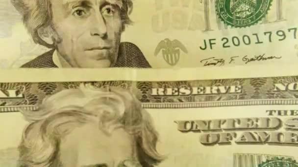 United States Currency Twenty Dollar Bill