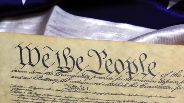 Ústava Spojených států historický dokument - jsme lidé Bill práv