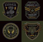 Fotografia Toppe militari unità speciale