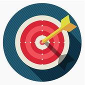 Vektorové cílovou ikonu