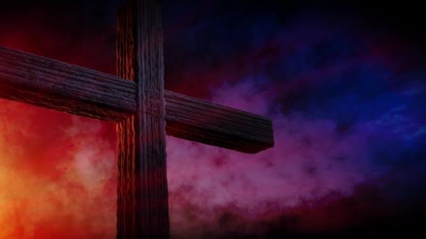 Kálvária-kereszt, Krisztus és a nap egyre ég