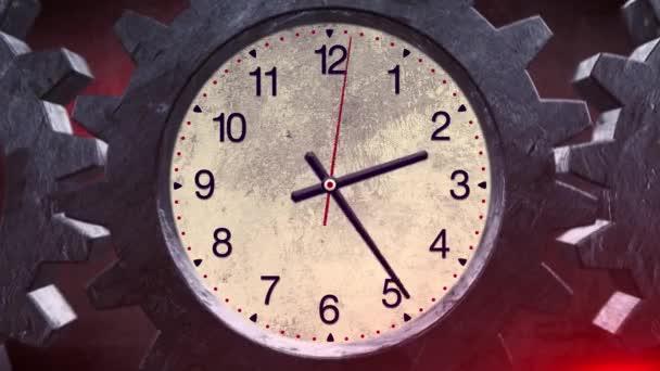 Zařízení systému rotace hodiny
