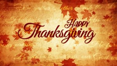 Thanksgiving Day Vintage Background Fall Ancient Old Autumn