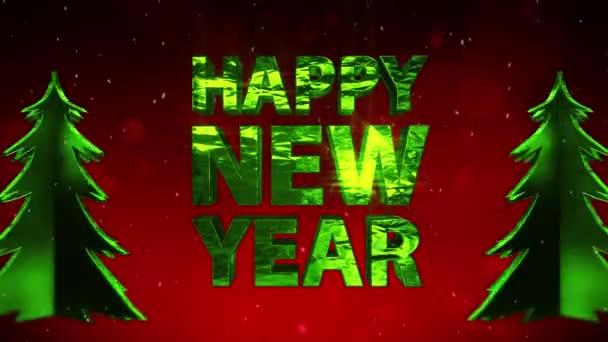 Boldog új évet csillogó háttér x-mas fák