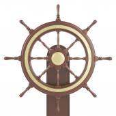 Ilustrace loď kolo