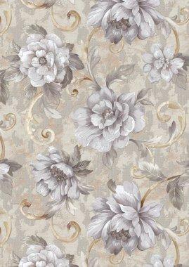 Endless floral pattern