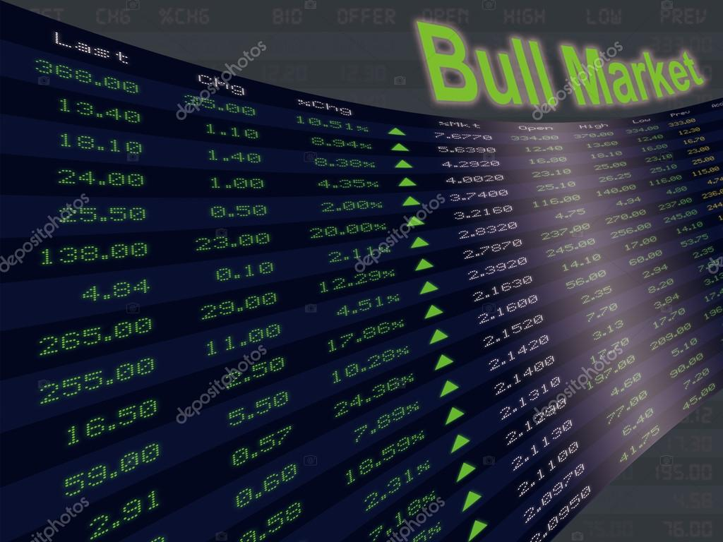 A Display of Daily Stock Market  — Stock Photo © wisitporn #66799831