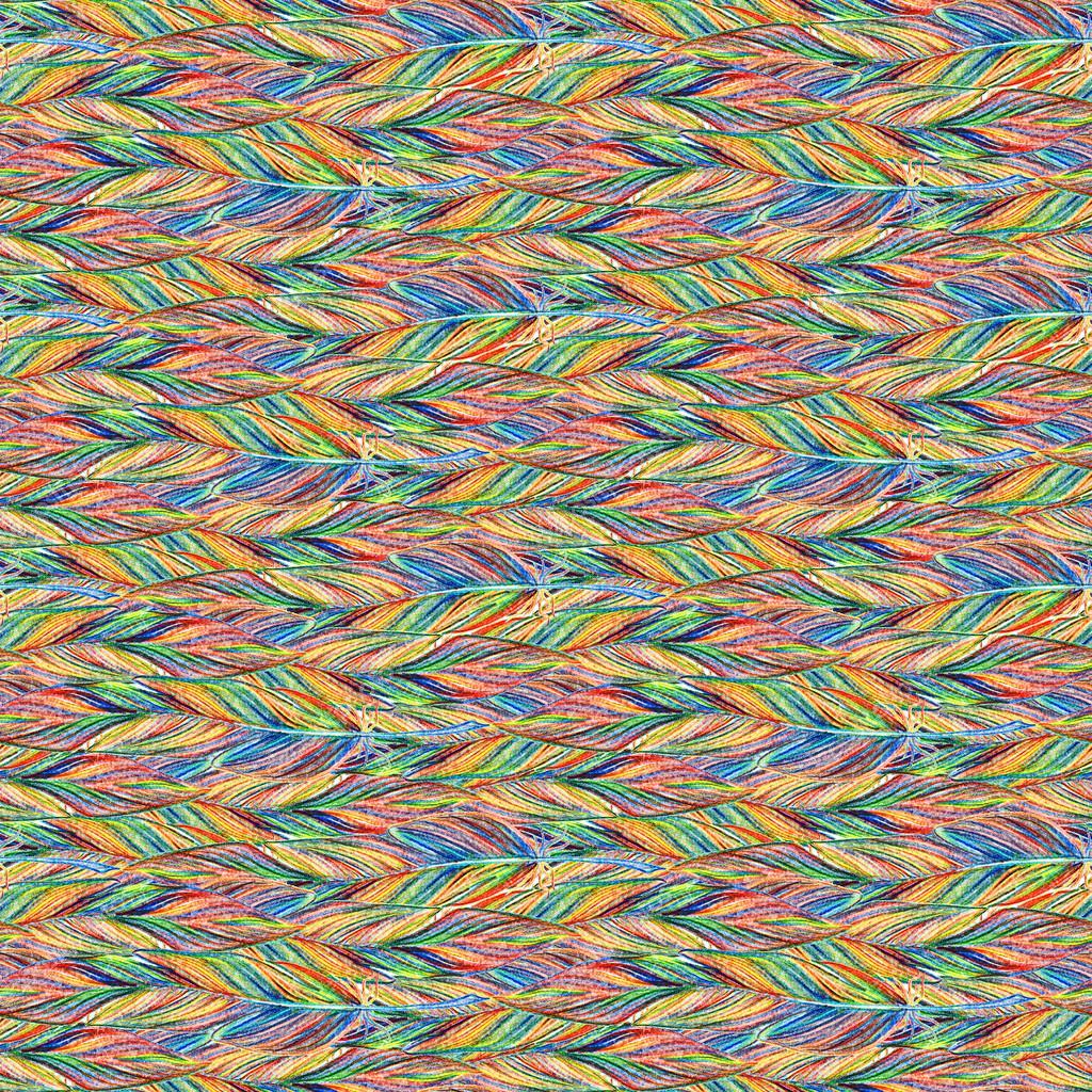 Arco iris colorido pájaro trenza de patrones sin fisuras textura de ...