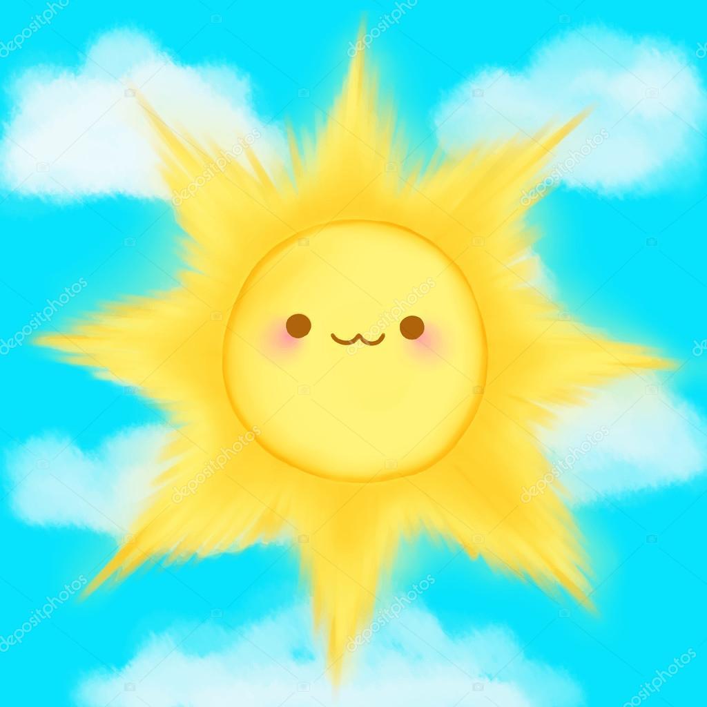 Prólogo - 1º Dia De Aula - Página 2 Depositphotos_89749426-stock-illustration-cute-cartoon-smiling-sun-clouds