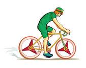 jezdit na kole sportovní zábava vektor