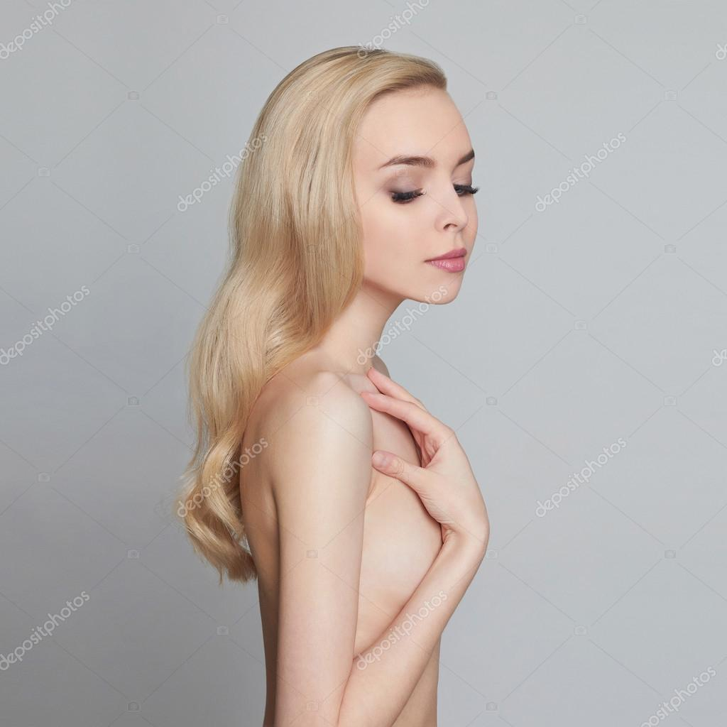 Beautiful Young Naked Woman Stock Photo