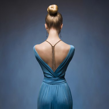 Fashionable Sexy back of girl
