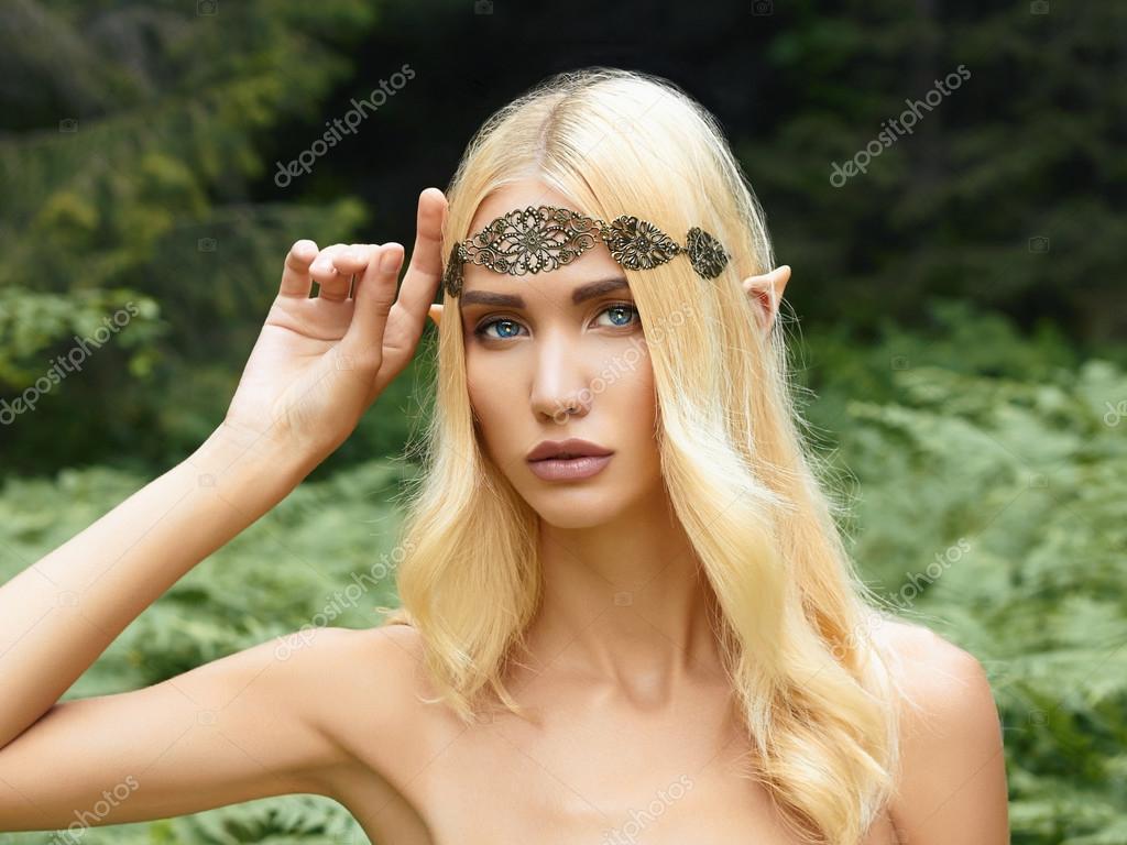 beautiful elf girl