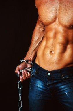 muscular male torso