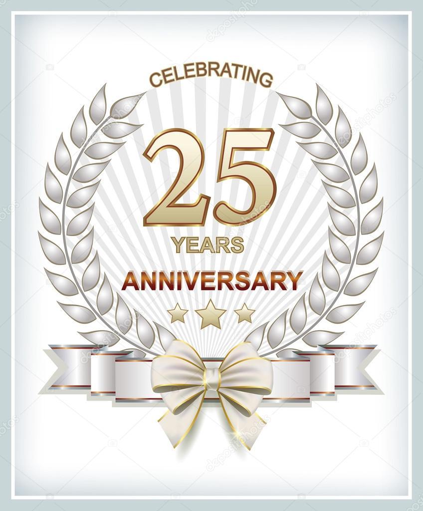 grattis 25 år Grattis på födelsedagen 25 år — Stock Vektor © seriga #77346358 grattis 25 år