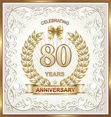 Fotografie Alles Gute zum Geburtstag 80 Jahre