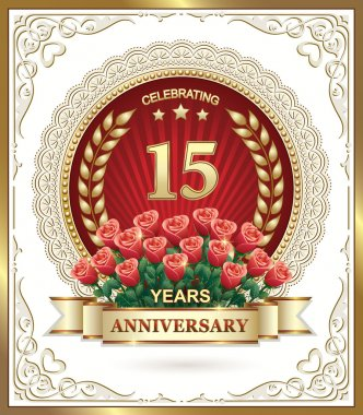 15 years anniversary