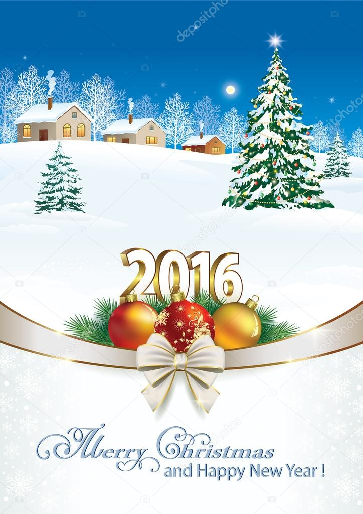 Happy New Year and Merry Christmas 2016