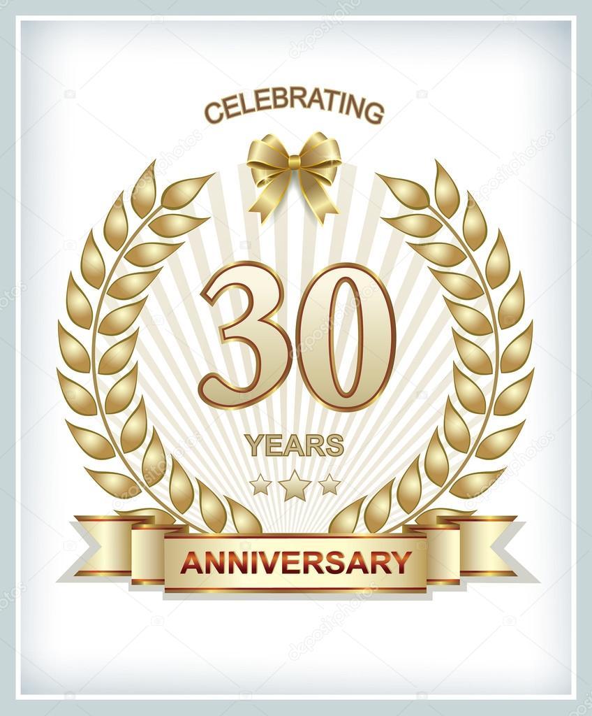 25 30 Anniversary Cap: Stock Vector © Seriga #96008558
