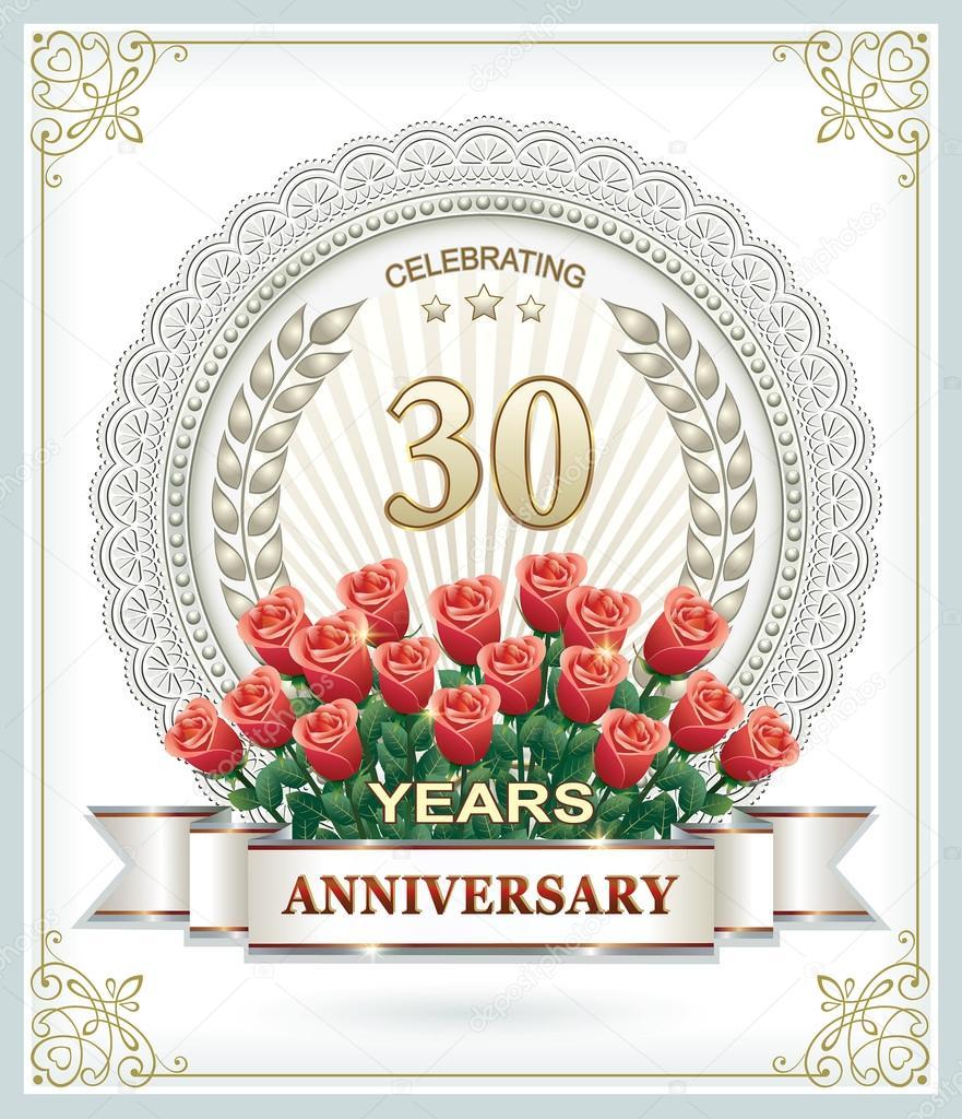 30 jährigen hochzeitstag