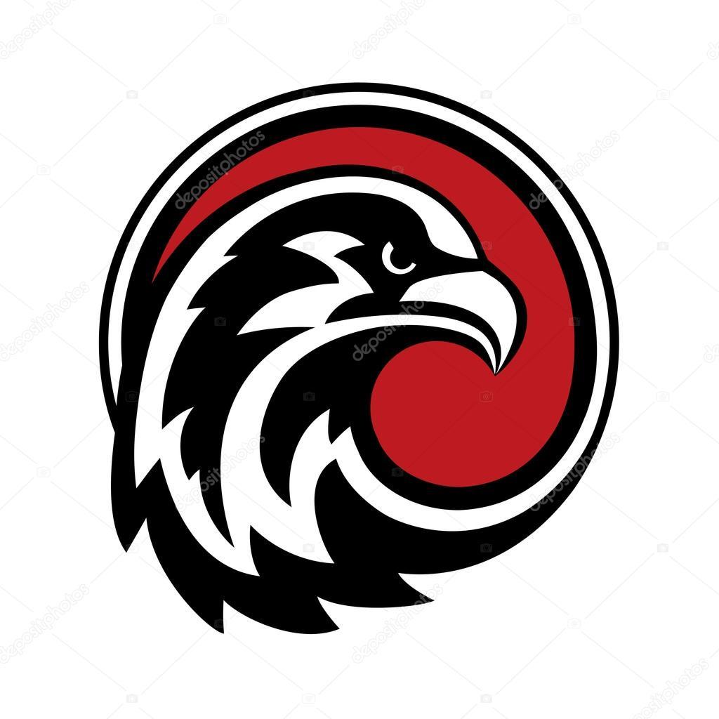 Vector de diseño de Logo de águila — Archivo Imágenes ... Геральдика Орел Вектор