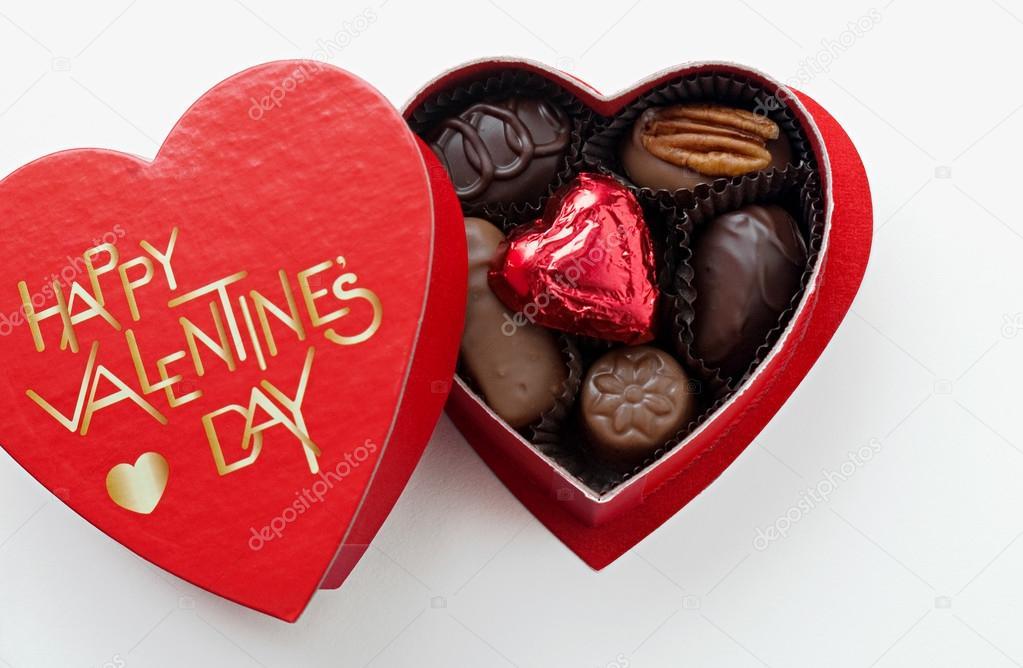 Valentinstag Pralinen Stockfoto C Lawcain 67918071