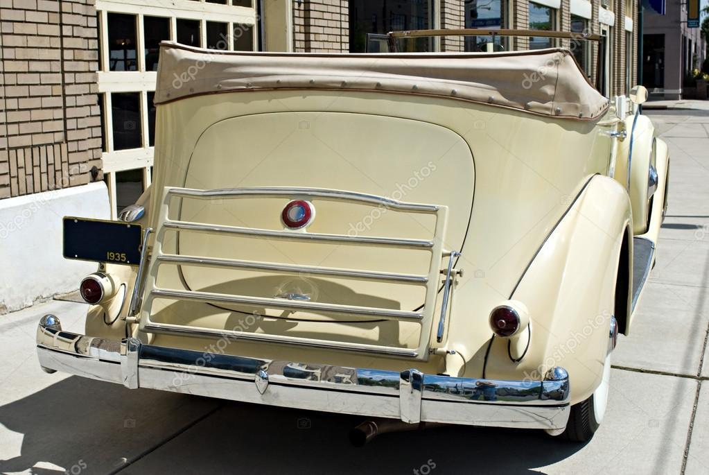 Luxury Vintage Car Rear — Stock Photo © Lawcain #68968605