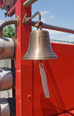 Antique Fire Engine Bell