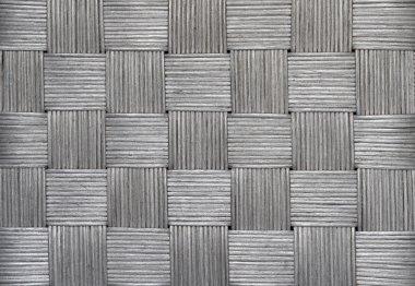 Silver Wicker Background