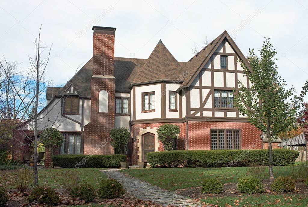 Grand English Tudor Home