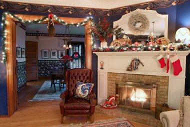 Christmas Home Interior, HDR