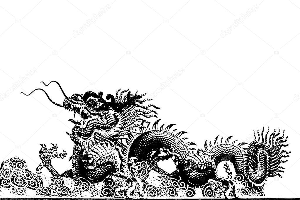 Graphique de dragon chinois abstrait photographie sasinp 83935190 - Photo dragon chinois ...