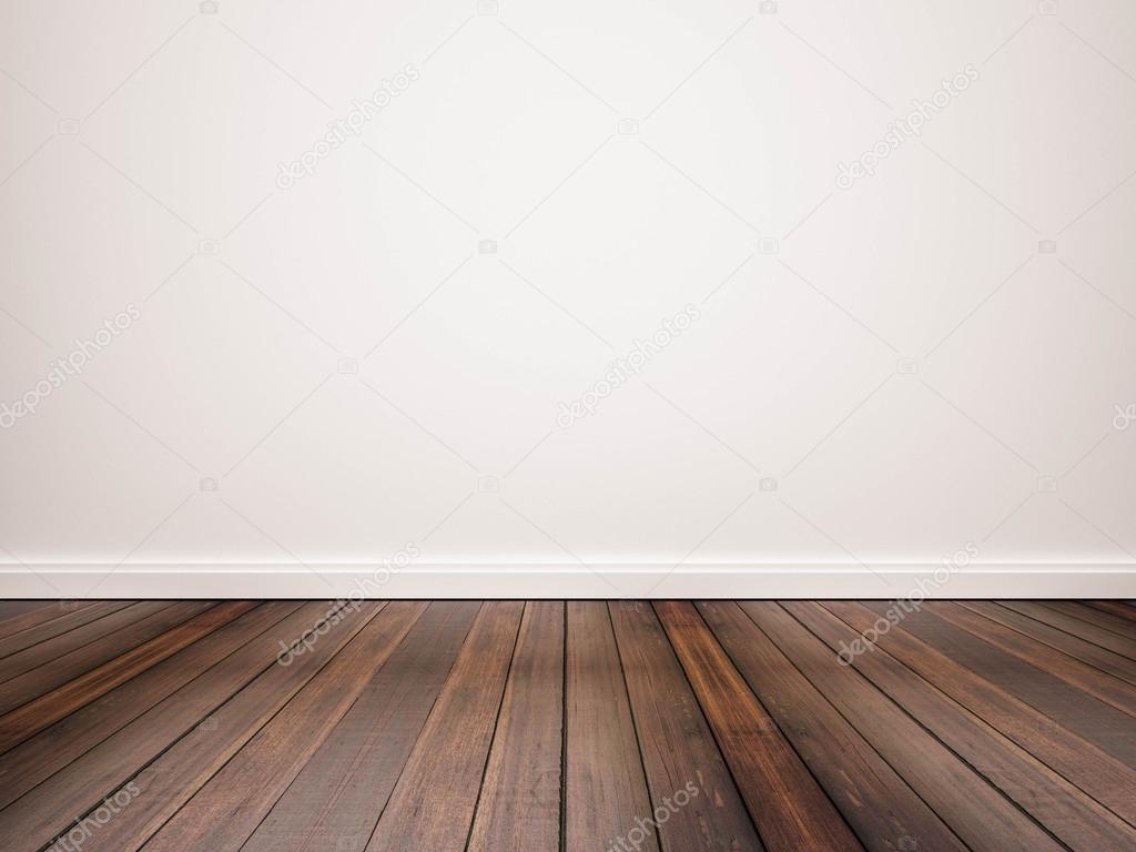 Plancher De Bois Franc Avec Mur Blanc Photographie Sasinp 83936314
