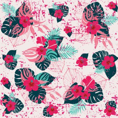 Tropical jungle  pattern