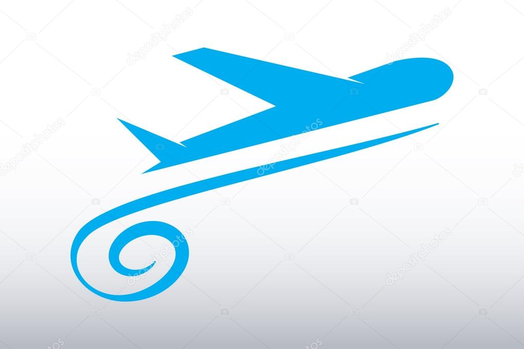Vector Airplane Travel Tourism — Stock Vector © alozar ...