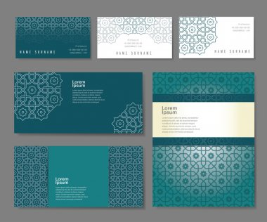 set of templates in arabic