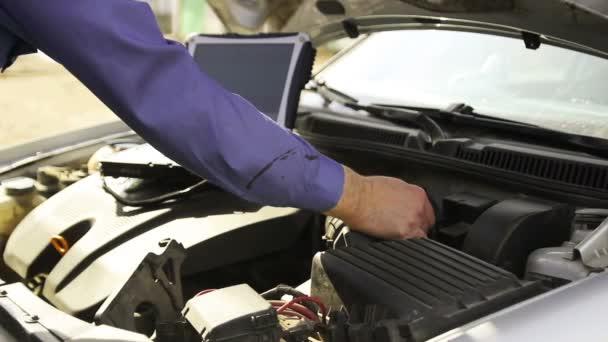 Počítačové diagnostiky vozidel mechanik, video Hd