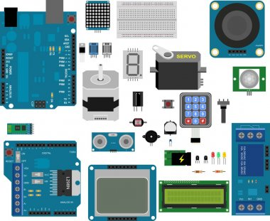 Arduino electronic elements