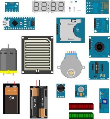 Arduino electronic elements