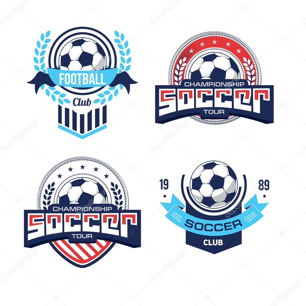 Football soccer logo set stock vector artemon91 106296360 set of badges and logos for football teams and tournaments soccer design vector by artemon91 biocorpaavc Choice Image