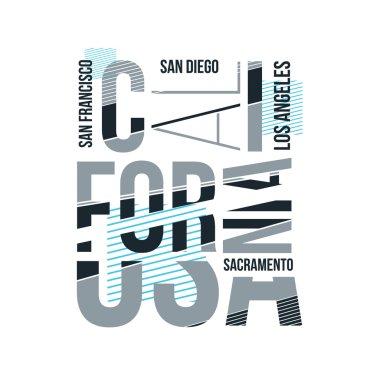 California vintage logo design