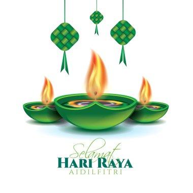 Hari Raya arabic feast design
