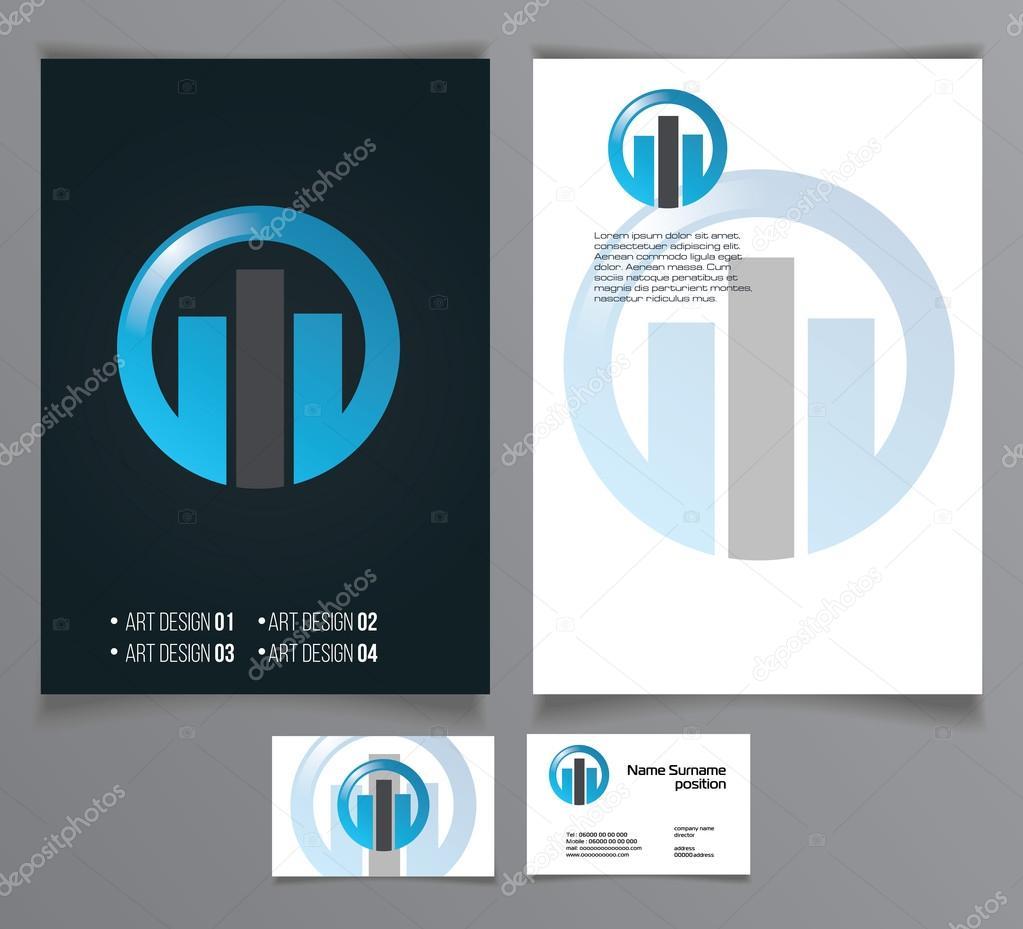 Flyers Brochures Modeles De Cartes Image Vectorielle Artemon91