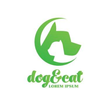 Dog & cat design  logo