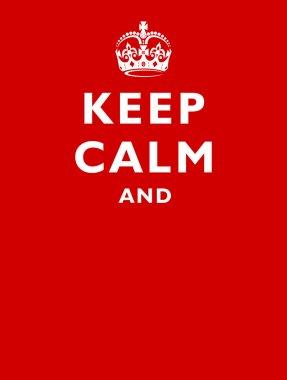crown keep calm and