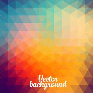 Trendy  background of geometric patterns